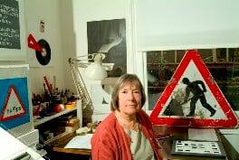 Margaret Calvert, by Steve Speller - NPG x126785