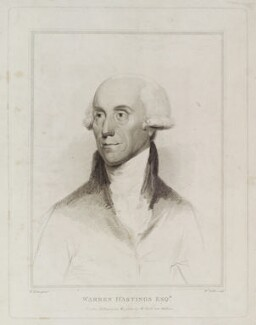 Warren Hastings, by William Nutter, published by  Robert Cribb, after  Robert Fulton - NPG D20354