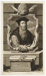 Thomas Cranmer, by Pieter Stevens van Gunst - NPG D20363