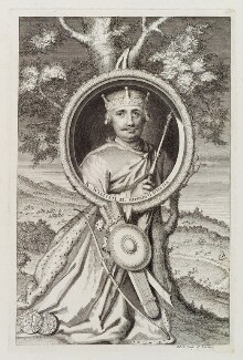 King William II ('Rufus'), by George Vertue, engraved 1733 - NPG D20365 - © National Portrait Gallery, London