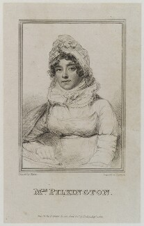 Mary Pilkington (née Hopkins), by James Hopwood Sr, published by  George Cowie, after  Joseph Slater - NPG D20381