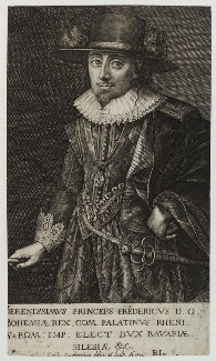 Frederick V, King of Bohemia and Elector Palatine, by Crispyn van den Queborne - NPG D20394