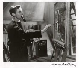 Leonard Rosoman, by William MacQuitty - NPG x34803