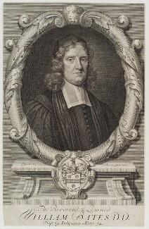 William Bates, by Robert White, after  Sir Godfrey Kneller, Bt - NPG D20405