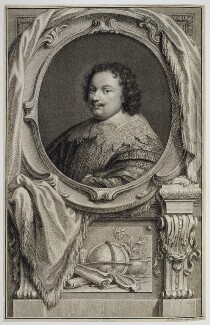 Sir Kenelm Digby, by Jacobus Houbraken, published by  John & Paul Knapton, after  Sir Anthony van Dyck - NPG D20408