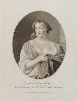 Arabella Godfrey (née Churchill), by Ignatius Joseph van den Berghe, published by  Edward Harding, published 1 May 1799 - NPG D20410 - © National Portrait Gallery, London