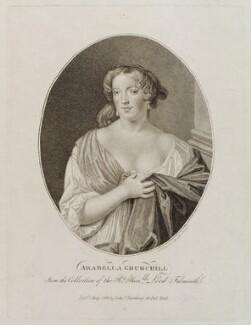 Arabella Godfrey (née Churchill), by Ignatius Joseph van den Berghe, published by  Edward Harding, published 1 May 1799 - NPG D20410 - © National Portrait Gallery, London