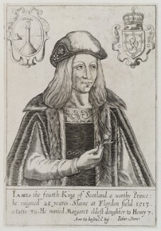 James IV of Scotland, published by Peter Stent - NPG D20412