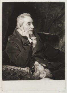 George O'Brien Wyndham, 3rd Earl of Egremont, by Samuel William Reynolds, after  Thomas Phillips - NPG D20446