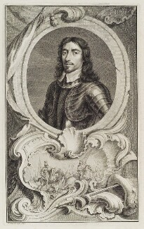 Thomas Fairfax, 3rd Lord Fairfax of Cameron, by Jacobus Houbraken, published by  John & Paul Knapton, after  Samuel Cooper - NPG D20447