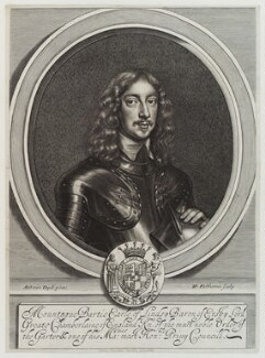 Montague Bertie, 2nd Earl of Lindsey, by William Faithorne, after  Sir Anthony van Dyck - NPG D20463
