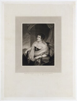 Sydney Morgan (née Owenson), Lady Morgan, by Robert Cooper, after  Samuel Lover - NPG D20467
