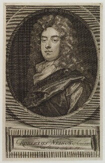 Robert Nelson, by George Vertue, after  Sir Godfrey Kneller, Bt - NPG D20469