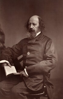 Alfred, Lord Tennyson, by Elliott & Fry - NPG x126801