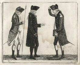 George Gordon; John Grieve; George Robertson, by John Kay - NPG D16858