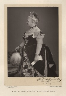 Princess Augusta Caroline, Grand Duchess of Mecklenburg-Strelitz, by Walery, published by  Sampson Low & Co - NPG x9155