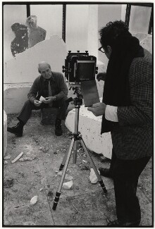 Henry Moore; Arnold Newman, by Arnold Newman - NPG x26339