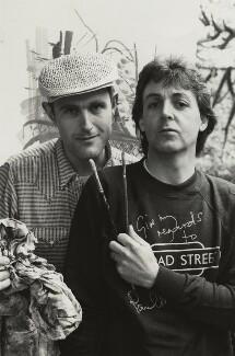 Humphrey Ocean; Paul McCartney, by Linda McCartney - NPG x19172
