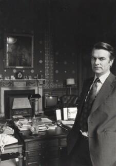 David Anthony Llewellyn Owen, Baron Owen, by Fay Godwin - NPG x68249