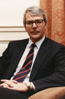 John Major, by Nicholas Posner - NPG x35904