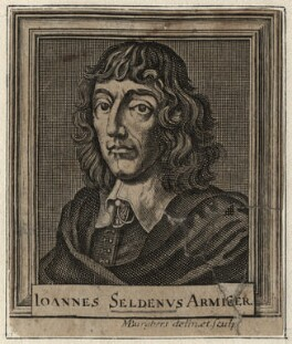 John Selden, by Michael Burghers - NPG D16807