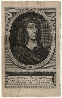 John Selden, by Frederick Hendrik van Hove, printed for  Thomas Lee - NPG D16808