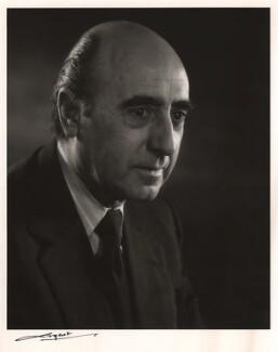 Sir David Napley, by Godfrey Argent - NPG x31095
