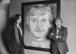 Michael Frith; Michael John Molloy, by Alan Olley, 1987 - NPG x29558 - © reserved; collection National Portrait Gallery, London