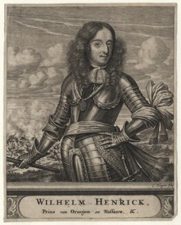 King William III, by Christian Hagen, after  Unknown artist - NPG D16903