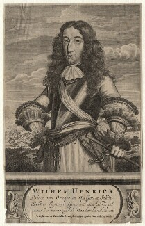 King William III, published by Carel Allard, after  Unknown artist - NPG D16904