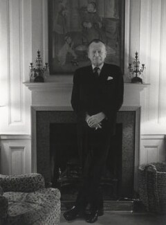Sir Peter Courtney Quennell, by Fay Godwin - NPG x68252