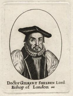 Gilbert Sheldon, after Unknown artist - NPG D16921
