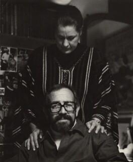 Alida Elzabé Haskins (née van Heerden); Sam Haskins, by Petr Tausk - NPG x28400