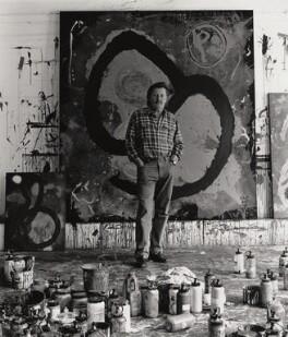 John Hoyland, by George Newson - NPG x35728