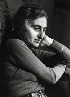 Ruth Prawer Jhabvala, by Fay Godwin - NPG x15441