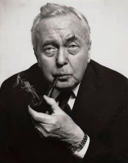 Harold Wilson, by Sefton Samuels - NPG x29885