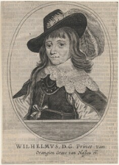 William II of Orange-Nassau, after Gerrit van Honthorst - NPG D16942