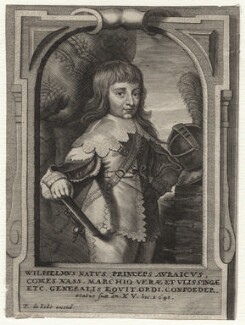William II of Orange-Nassau, published by Pieter de Jode II, after  Gerrit van Honthorst - NPG D16944