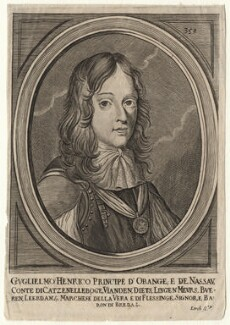 King William III, by Lerch, after  Adriaen Hanneman - NPG D16947