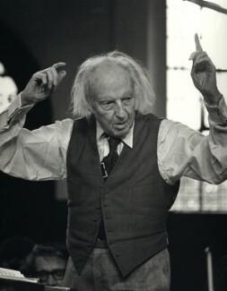 Leopold Boleslawowicz Stanislaw Antoni Stokowski, by Clive Barda - NPG x45148
