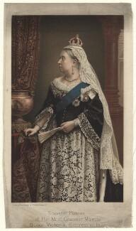 Queen Victoria, after Walery - NPG D16954
