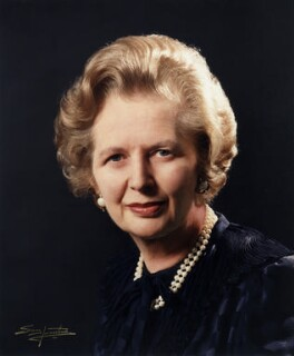 Margaret Thatcher, by Simon Livingstone - NPG x29875