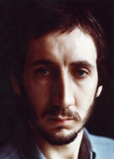 Pete Townshend, by Johnny Dewe-Mathews - NPG x16145