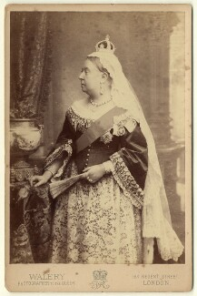 Queen Victoria, by Walery - NPG x3799