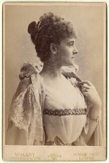 Frances Evelyn ('Daisy') Greville (née Maynard), Countess of Warwick, by Walery - NPG x13498
