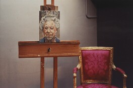 'St James's Palace, 'Portrait of the Queen', by David Dawson - NPG x126311