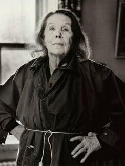 Doris Zinkeisen, by Lucinda Douglas-Menzies, 1990 - NPG x35166 - © Lucinda Douglas-Menzies / National Portrait Gallery, London