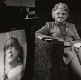 Mary Whitehouse, by Lucinda Douglas-Menzies - NPG x35128
