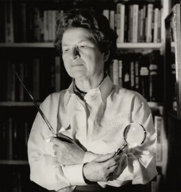 P.D. James, by Lucinda Douglas-Menzies - NPG x35164