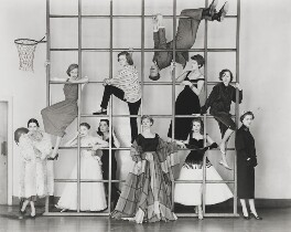The Young Look in the Theatre, by Norman Parkinson - NPG x30113
